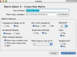Matrix Maker