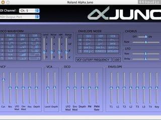 Alpha Juno Control