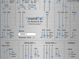 SoundPaC JX8P