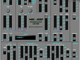 JX8P editor