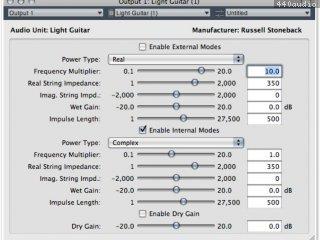 Light Guitar Audio Plug-in