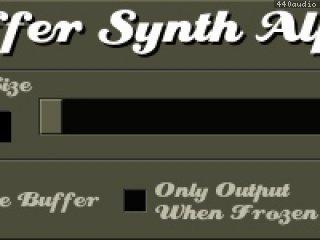 Buffer Synth Alpha