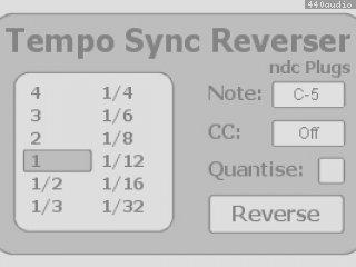 Tempo Sync Reverser