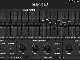 Rane Series Graphic EQ
