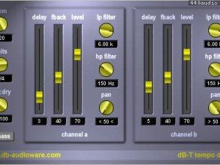 dB-T tempo delay