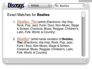 Another Discogs Widget