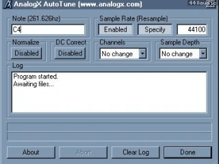 AnalogX AutoTune