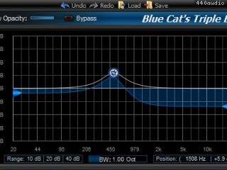 Blue Cat's Triple EQ
