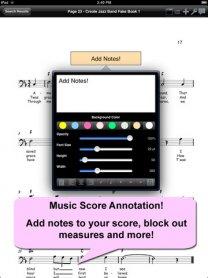 iGigBook Sheet Music Manager