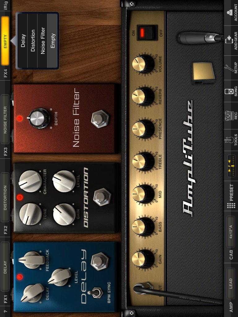 AmpliTube FREE for iPad