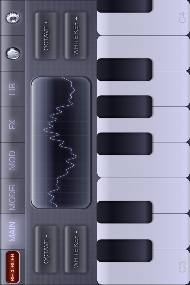 Electronic Piano Synthesizer XS