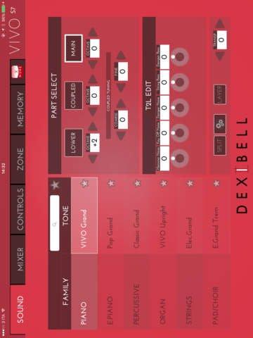 Dexibell VIVO Editor
