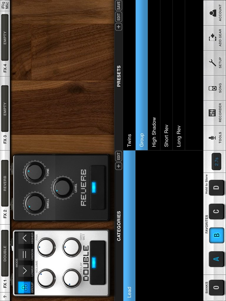 VocaLive CS for iPad