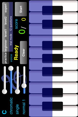 Perfect Pitch Practice Piano