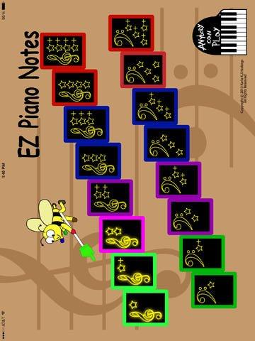 EZ Piano Notes