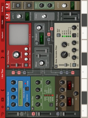 Thor Polysonic Synthesizer