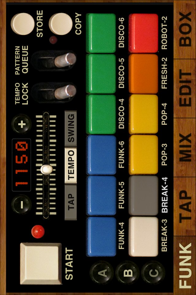 FunkBox Drum Machine