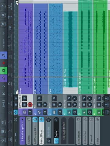 Cubasis LE 2 - Mobile Music Creation System