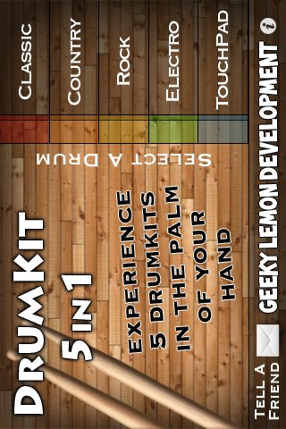DrumKit 5 in 1