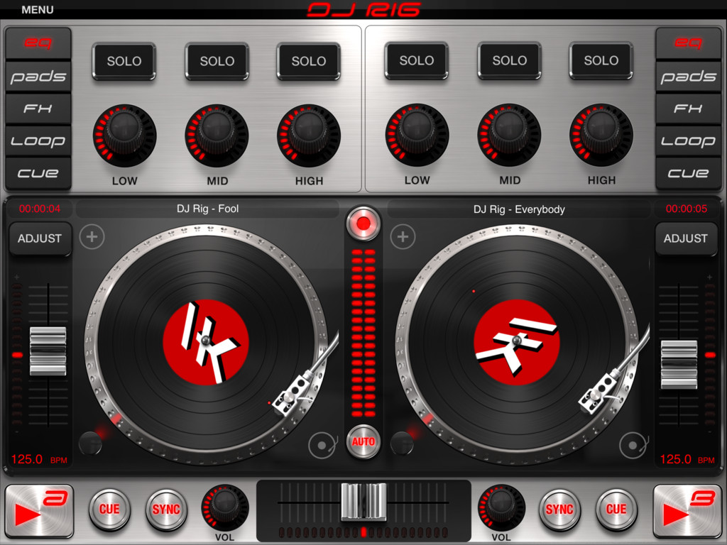 DJ Rig FREE for iPad