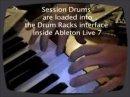Huston Singetary nous fait une démonstration en temps réel du nouveau Drum Rack de Live 7 avec la banque de samples Session Drums.