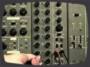 How to make Rythm/Bass pattern by Analog Sequencer. Using Roland System-100M module.