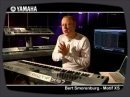 Bert Smorenburg presenting the Yamaha MOTIF XS synthesizer
