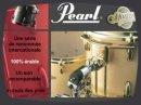 Présentation de la série de batteries professionnelles Pearl Masters Premium.
