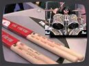 Présentation des baguettes signatures de Vic Firth au NAMM 08.