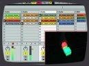 Percussa AudioCubes controling Ableton Live.