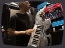 Jordan Rudess (Dream Theatre) plays Trilian and Omnisphere at the Spectrasonics booth at NAMM 2010.