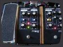 Démonstration du mariage entre une guitare et un modulateur en anneau (ring modulator) Moogerfooger MF-102.