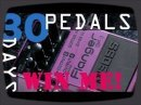 WIN THIS PEDAL: - http://bit.ly/30bosspedals 30 Boss compact pedals in 30 days - each one gets a bite-sized review, today its the Boss Flanger BF-3.