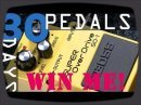 WIN THIS PEDAL: - http://bit.ly/30bosspedals 30 Boss compact pedals in 30 days - each one gets a bite-sized review, today its the Boss Super Overdrive SD-1.