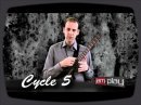 JamPlay instructor Brendan Burns demonstrates the circle of fifths on the neck of the guitar.