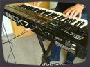 Vintage synth demo by RetroSound Yamaha DX7 II FM Synthesizer from the year 1987