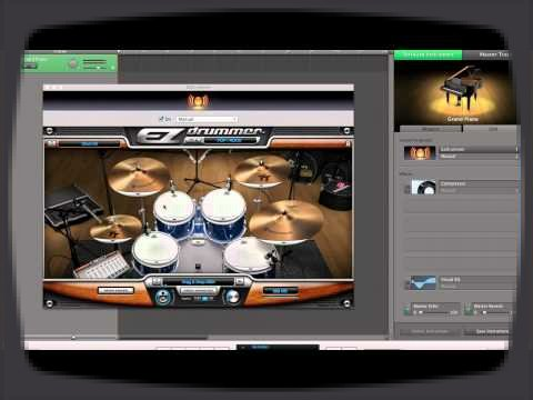 This video show you how to open Toontrack virtual instruments in GarageBand.