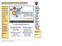 Audio Engineering Society (AES)