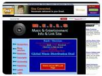 Music & Entertainment Info & Link Site