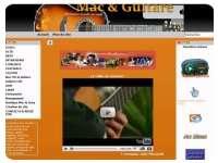 Mac et guitare