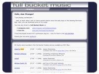Full bucket