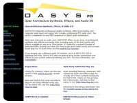 OASYS PCI Overview