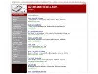 Automatic Records
