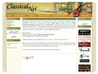 Classical Net Homepage