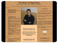 The Music of Nigel Keay