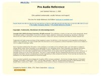 Rane Professional Audio Reference