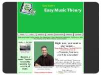 Easy Music Theory by Gary Ewer