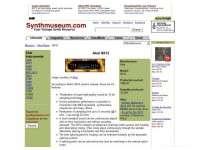 Akai S612 Sampler (SynthMuseum)