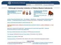 Edinburgh University - Collection of Historic Musical Instruments