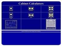 Cabinet calculator